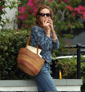 Diane Lane Smoking Cigarettes