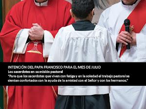 Intención del Papa para Julio