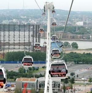 Lagos cable car ride
