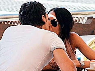Mesut Ozil with Girlfriend