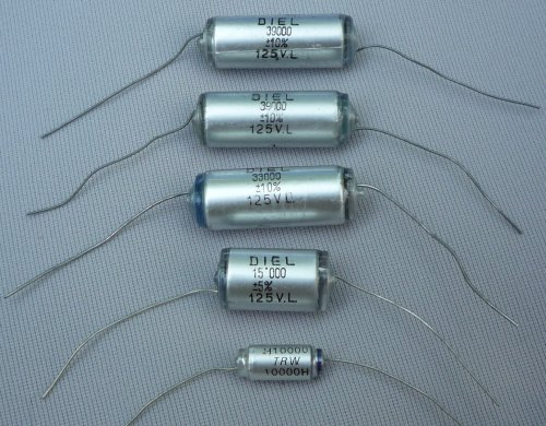 Polystyrene Film Capacitor Polystyrene Capacitors
