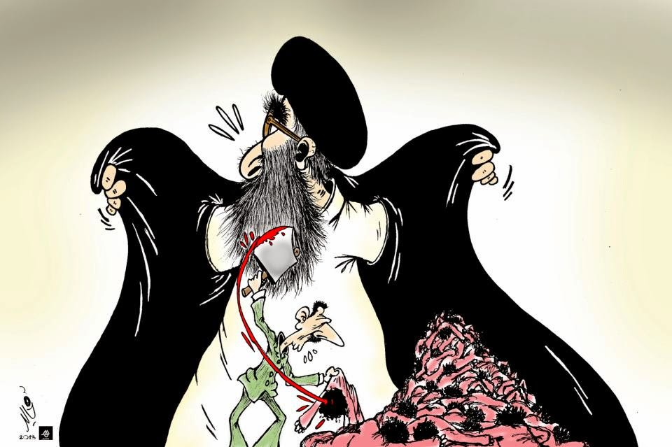Khamenei Threefold Incarnated