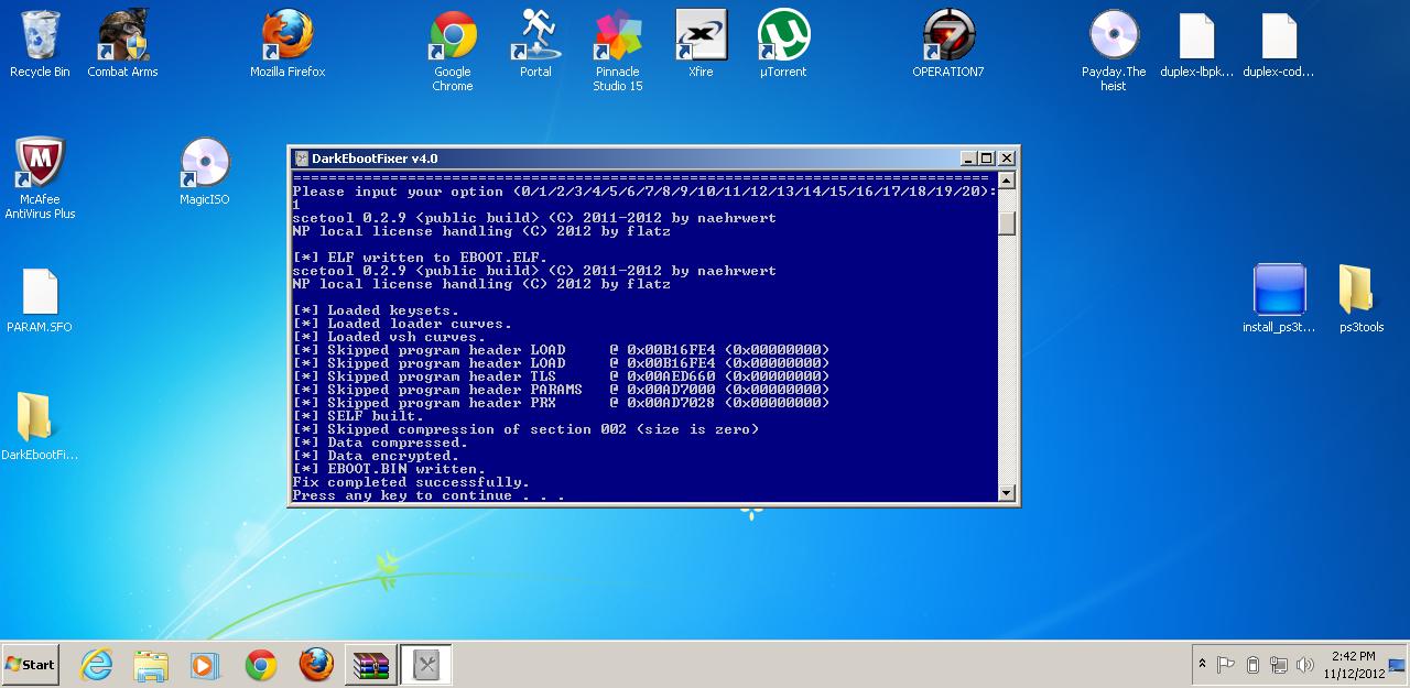 ebootmod and ebootfix download