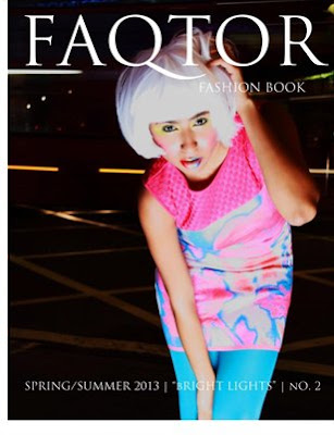 Ekaterina Kukhareva featured in FAQTOR Fashion Book