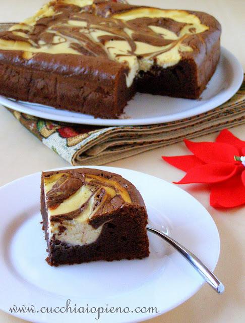 brownie cheesecake