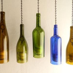 Reciclar reutilizar y reducir 15 fabulosas l mparas - Lamparas hechas con botellas ...