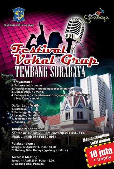 Festival Vokal Grup Tembang Surabaya