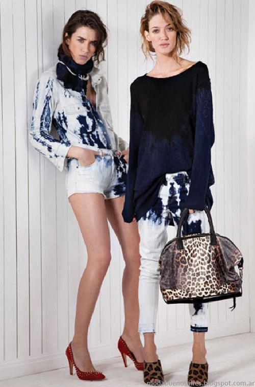 María Cher moda jeans primavera verano 2015.
