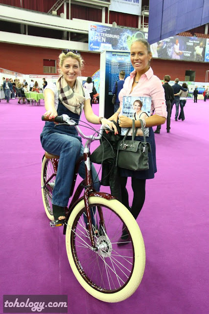 Electra Bicycle at St. Petersburg Open 2012