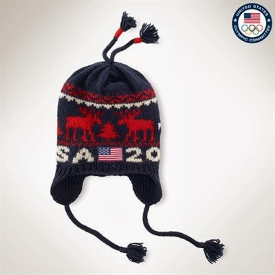 Ralph Lauren USA Sochi Ceremony Reindeer Hat