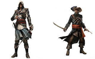 assassin's creed 4 black flag characters hd wallpaper