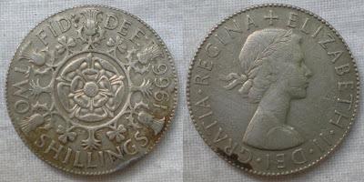 england 2 shilling 1966