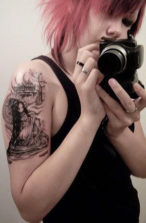 Girls Sleeve Tattoo Designs