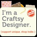 I'm a Craftsy Designer!
