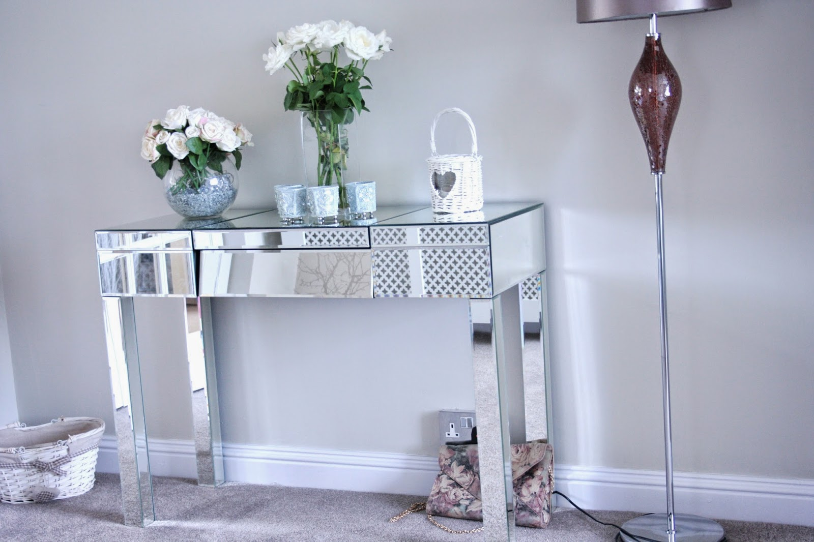 mirrored console table glasgow
