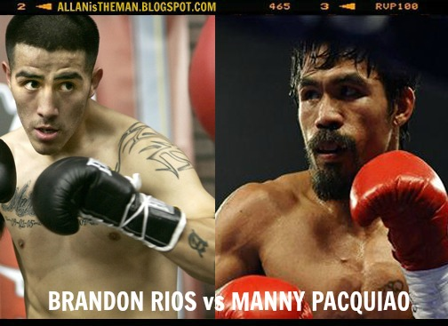 Manny Pacquiao vs Brandon Rios bout