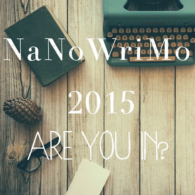 Should I participate in NaNoWriMo