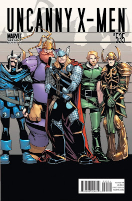 Uncanny X Men Vol 1 535 Variant Thor goes Hollywood The 72 Best Comic Book Covers of 2011