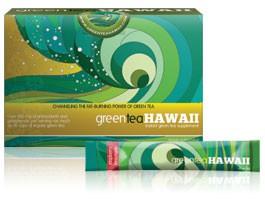 Amostra Gratis Chá Verde GreenTea Havaí