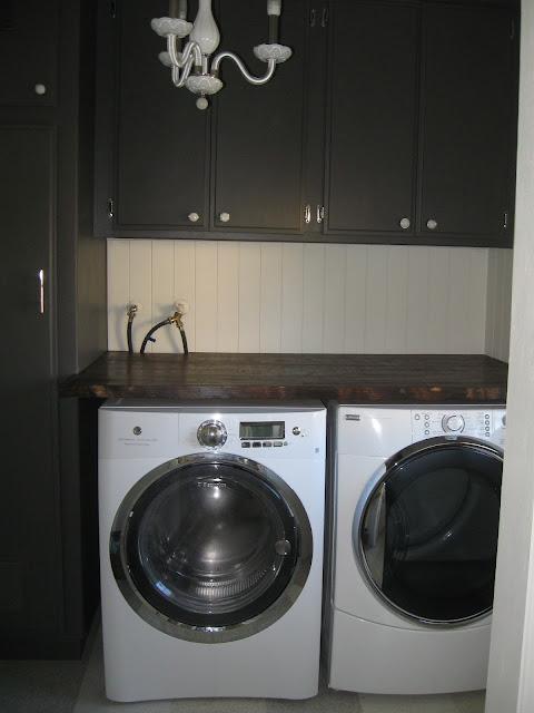 desert girls vintage laundry room folding counter and shelves. Black Bedroom Furniture Sets. Home Design Ideas