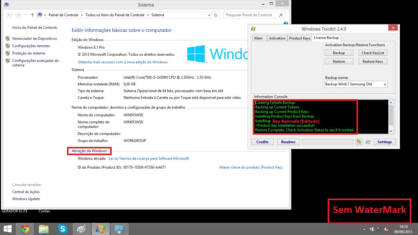 samsung product key windows 8