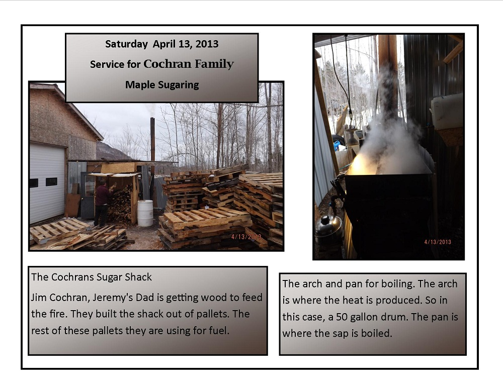 April 13, 2013 - Maple Sugaring
