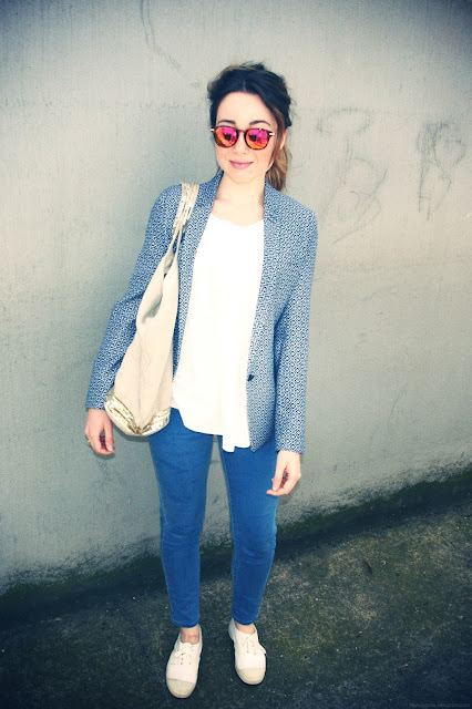 outfit, lookbook, look, tenue, OOTD, the kooples, vanessa bruno, bensimon, h&m
