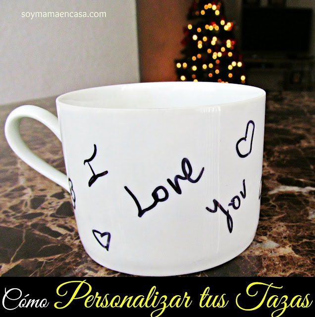tazas personalizadas DIY personalized mugs