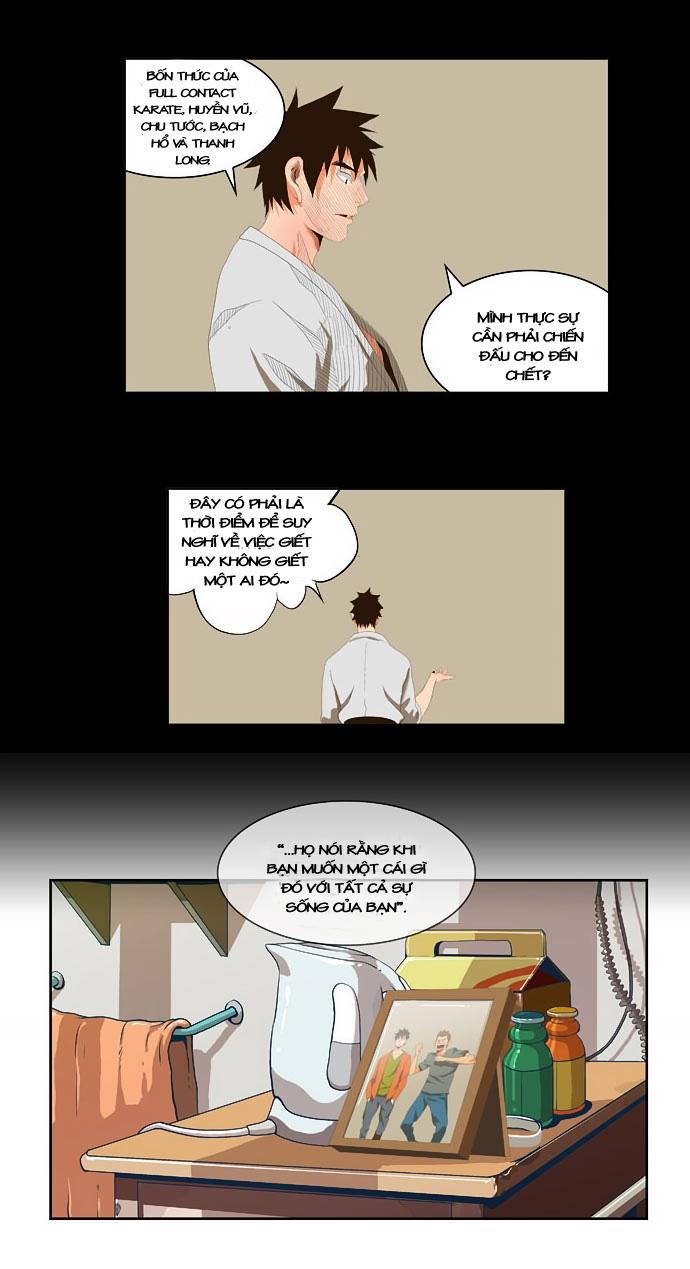 Chúa tể học đường chap 32 - Trang 12