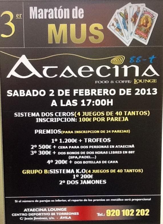 Campeonatos de mus en febrero de 2013 campeonatos de mus - El horno de yeles ...