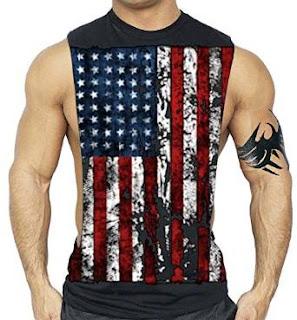 Bodybuilding T-Shirt Bodybuilding Tank Top XS-3XL