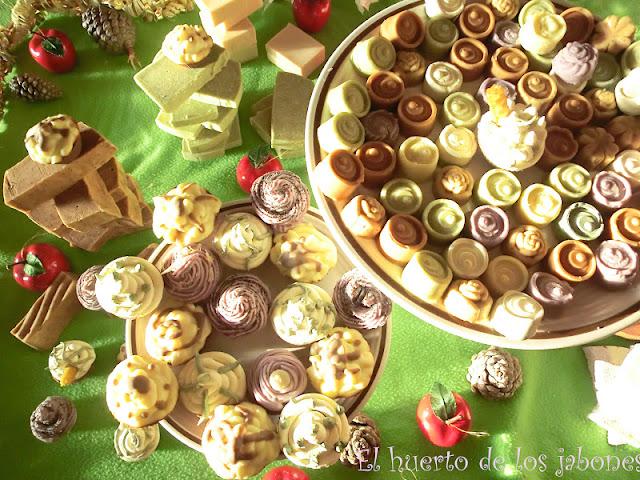 Detalle cupcakes y bombones