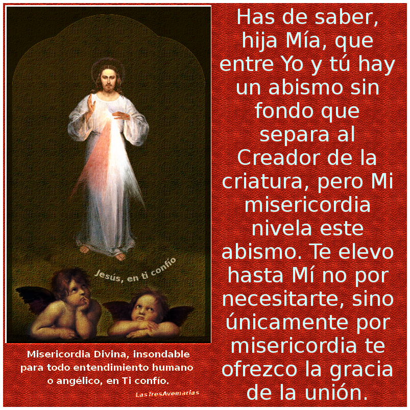 jesus misericordiosos con angeles