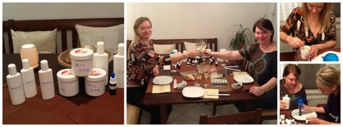 Sushi, Wine and DIY Aromatherapy