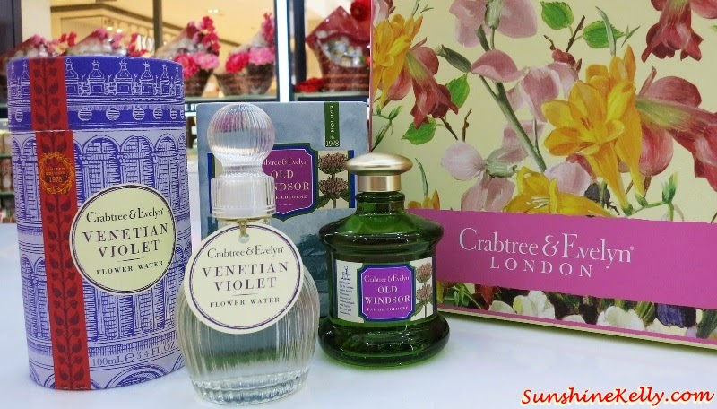 Crabtree & Evelyn, Heritage Fragrance Collection, For Him, For Her, Flower Waters, Florentine Freesia Flower Water, Venetian Violet Flower Water, Old World Jasmine Flower Water, Sevillian Neroli Eau de Cologne, Old Windsor Eau de Cologne, Hungary Water Eau de Cologne, Neapolitan Bergamot Eau de Cologne