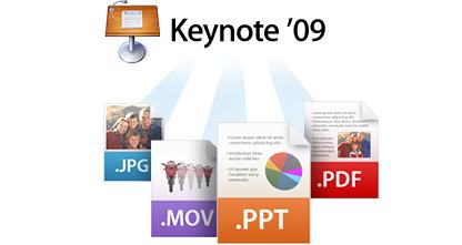 apple keynote new share