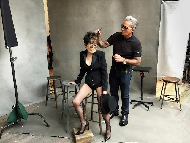 Calendario Pirelli 2016 - Yoko Ono