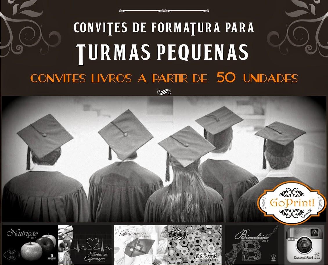 CONVITES DE FORMATURA