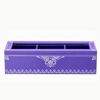 Pudełko z okienkiem (purpurowe) Bloomingville