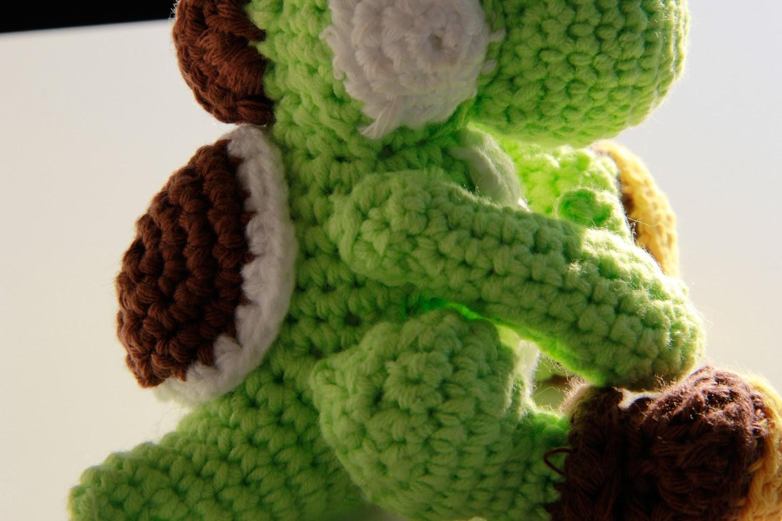 Saroh?s do-it-yourself Blog: Free Yoshi Amigurumi Crochet ...
