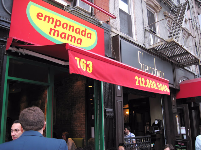 Wow Mama even makes empanadas at the aptly titled New York restaurant Empanada Mama