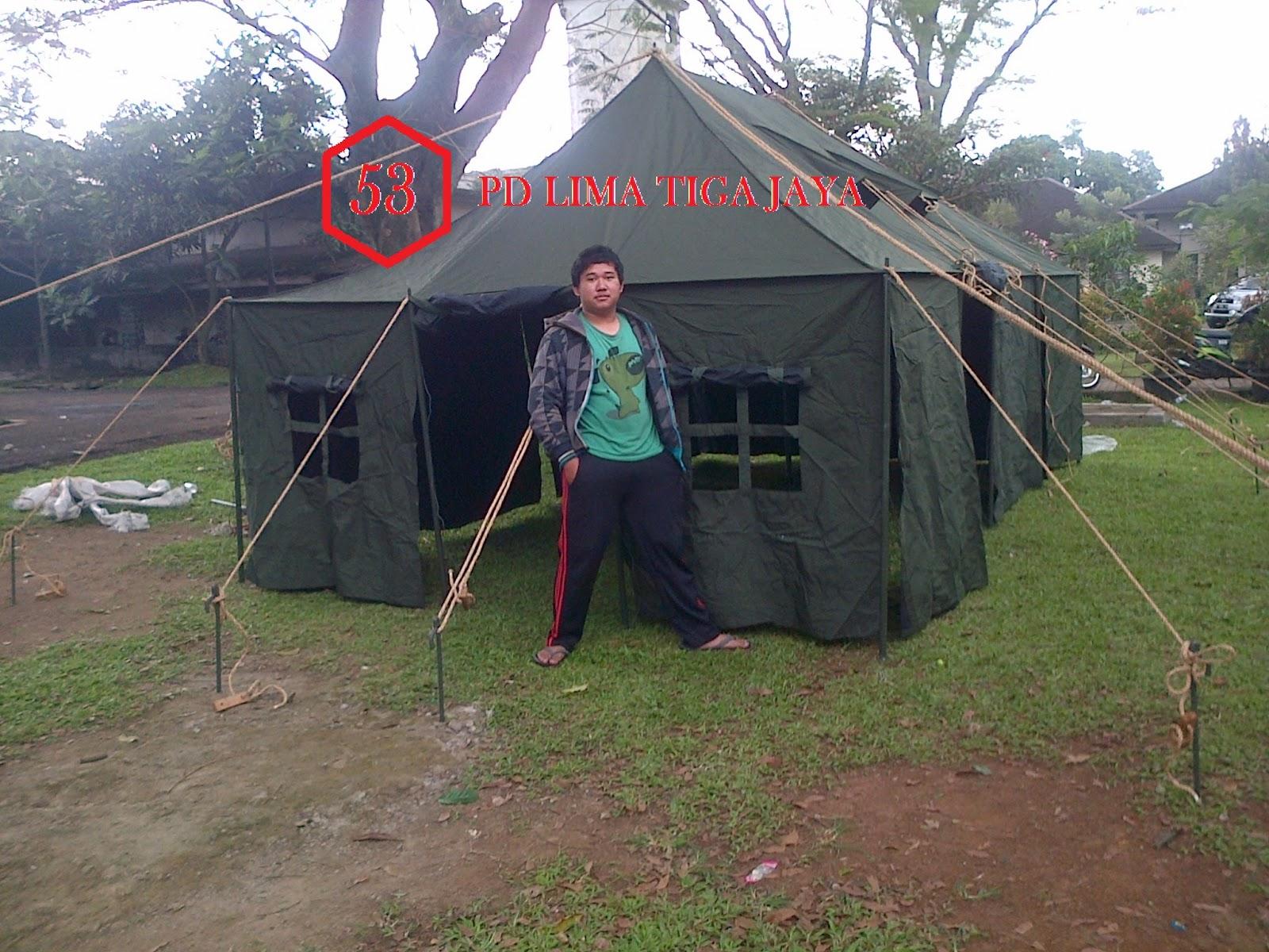 jual tenda regu standar tni , pusat tenda bandung ,tenda murah bandung