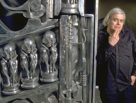 father of alien HR Giger