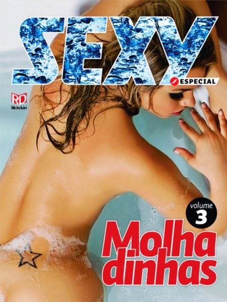 Sexy Especial Molhadinhas - Volumes 3