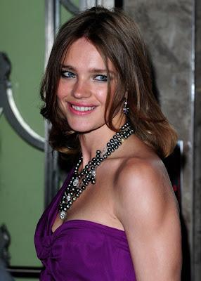 Natalia Vodianova Black Pearls Necklace