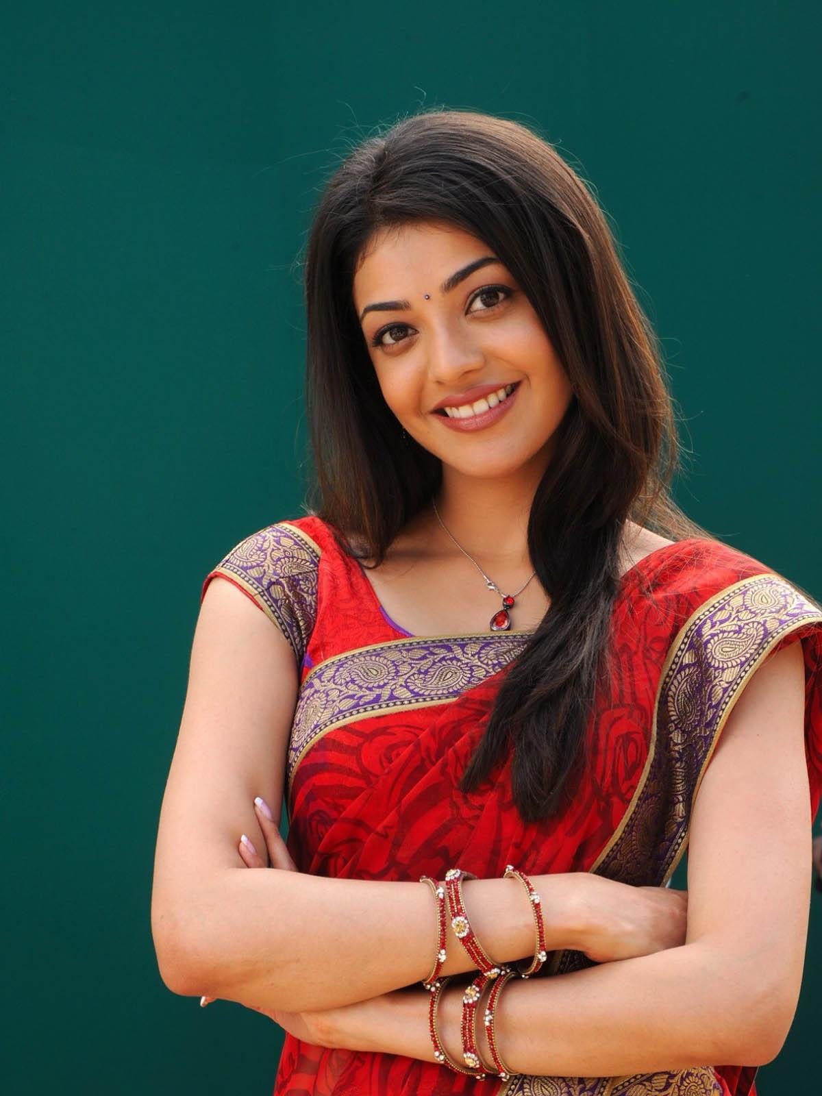 saree wallpapers kajal agarwal - photo #8