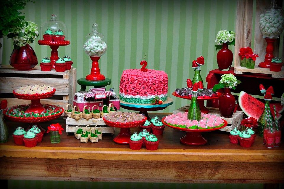 Festa de aniversário tema melancia  Macetes de Mãe