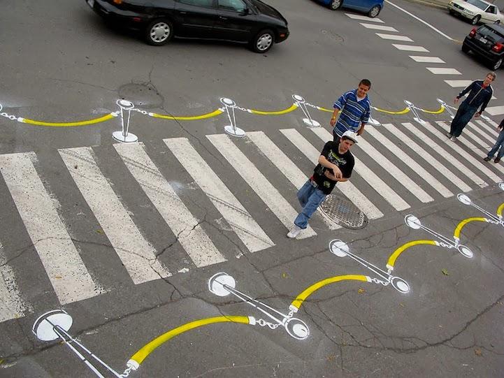 Street Art - Pintando sobre el Asfalto 32