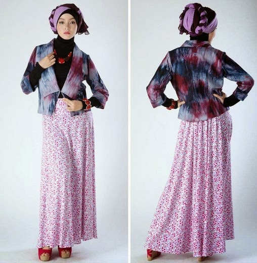 Model Baju Pesta Muslim Untuk Wanita Gemuk Ragam