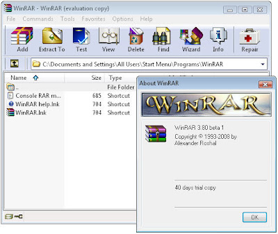 Winrar Screenshots